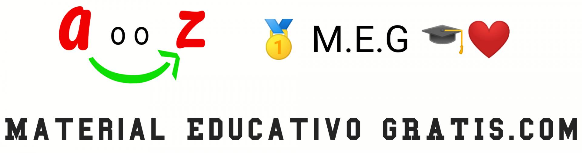 🎓 M.E.G 🎓 【OFICIAL】❤️ 【Material Educativo Gratis】